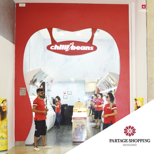 8bf5e7899 Chilli Beans - Partage Shoping Mossoró